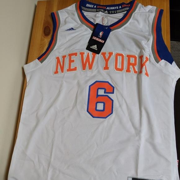 buy popular 3f4d6 8c68d Kristaps Porzingis Knicks jersey NWT
